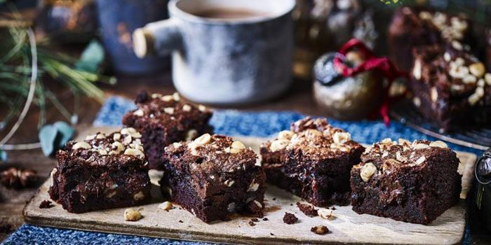 Chocolate Hazelnuts Brownie