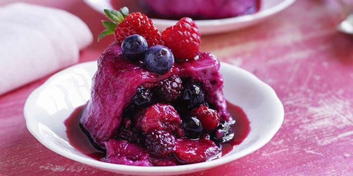 Iced Berry Pud