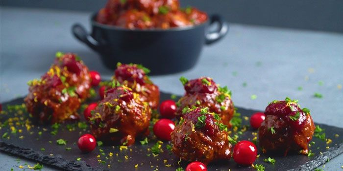 Tangy Cranberry Meatballs