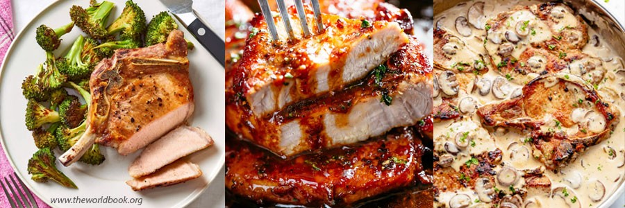 What to eat with pork chops for dinner