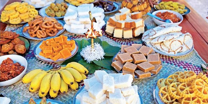 New Year Celebration with Sweets