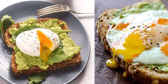 Avocado Toast with Poached Eggs