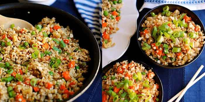 Veggie Fried Brown Rice