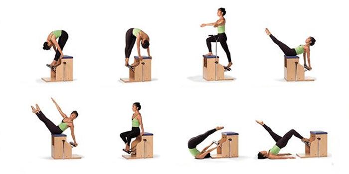 Pilates Chair Exercises