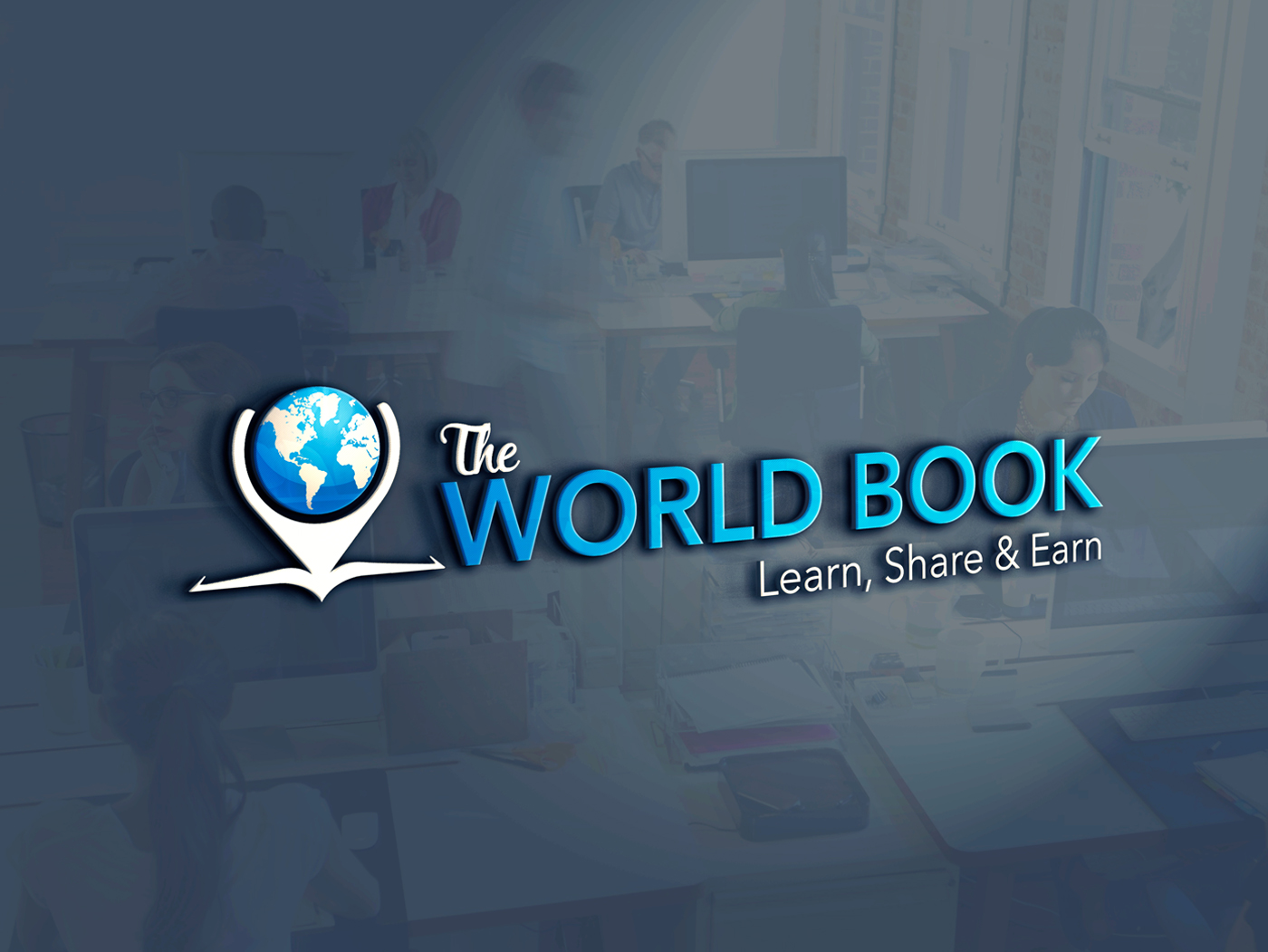 The World Book logo