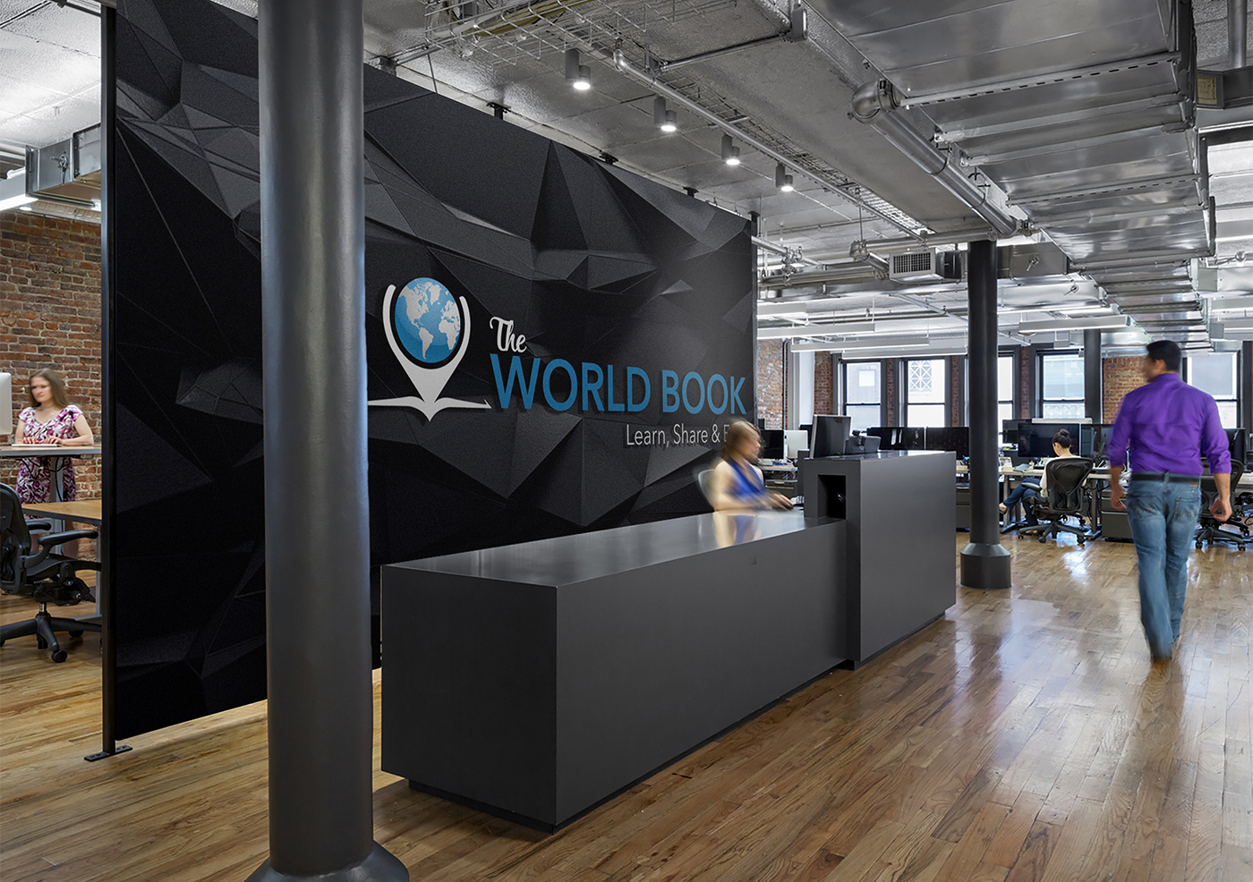 The World Book Front Desk